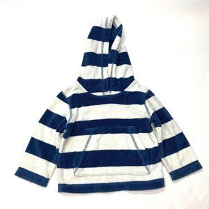 Mini Boden Towelling Hoodie Cover Up Sz 1.5-2 Yrs